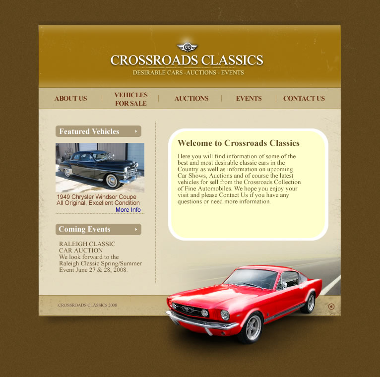 Crossroads Classics Collector Cars Antique Cars Auctions Events - Raleigh classic car show